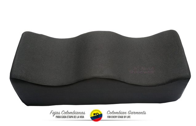 BBL Booty Pillow Cushion for Post Recovery Brazilian Butt lift + Booty Support - Fajas Colombianas Shapewear