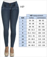 Colombian Jeans Equilibrium High Waisted Skinny For Women- J8847 - Fajas Colombianas Shapewear