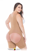 Post surgical Compression Garments Short Style Mid Thigh Ref - 081 - Fajas Colombianas Shapewear