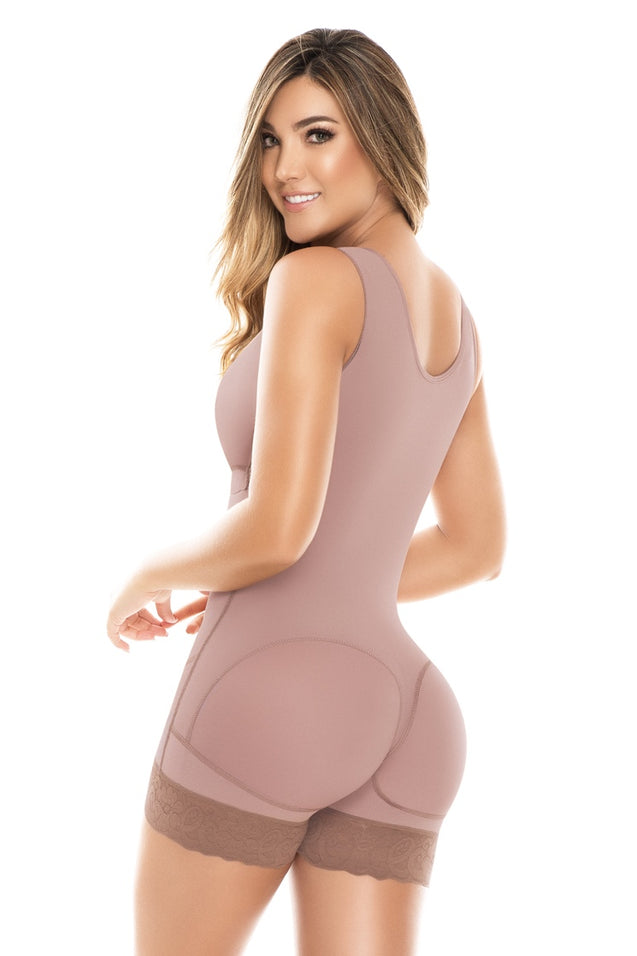 Fajas Colombianas Dprada 11086 Full Bodyshaper Post Surgical with Bra - Fajas Colombianas Shapewear