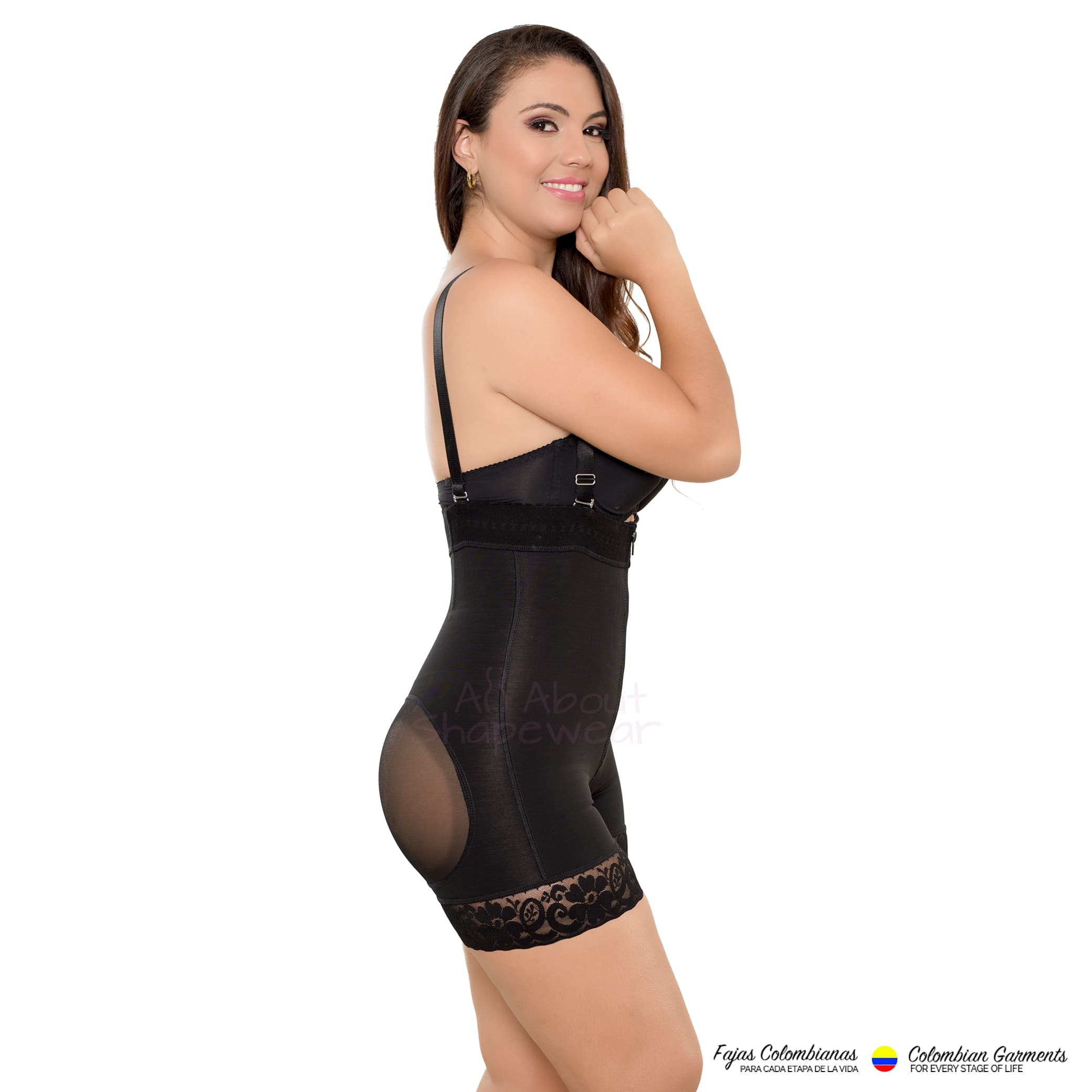 6abed7a978c70 Fajas Colombianas Body Shaper Strapless Short Style with a Natural Lift Ref  030 - Fajas Colombianas