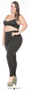 Leggings Seamless Black /Sin costura Leggings Negro - Fajas Colombianas Shapewear