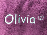 Personalised Luxury Towels