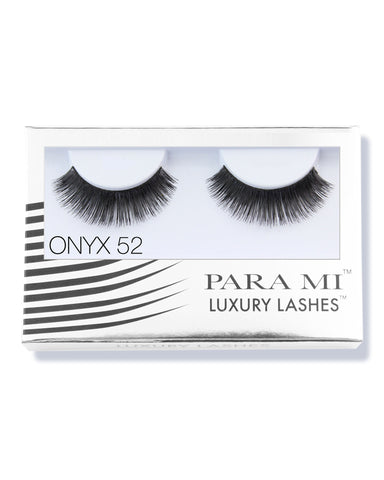 Luxury Lashes Eyelashes - Onyx 52
