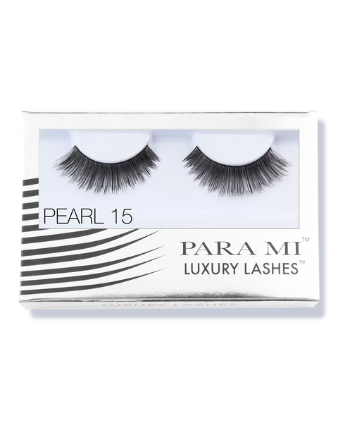 Luxury Lashes Eyelashes - Pearl 15