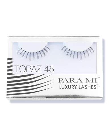 Luxury Lashes Eyelashes - Topaz 45