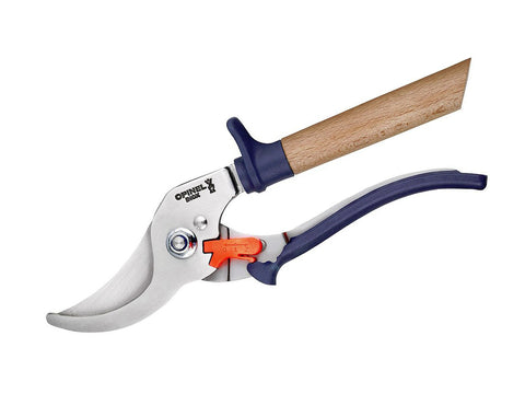 Opinel Le Secateur Hand Pruner Beech Handle Blue
