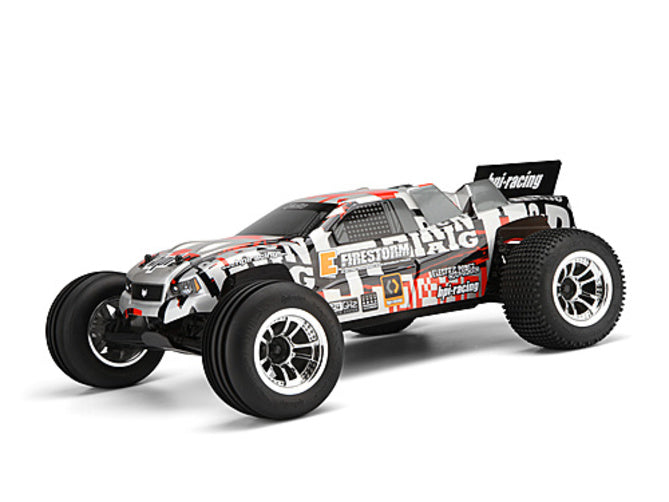 HPI E-Firestorm 10T EP RC Truck 1/10 2wd 2.4GHz with DSX-2 Truck Body 105845