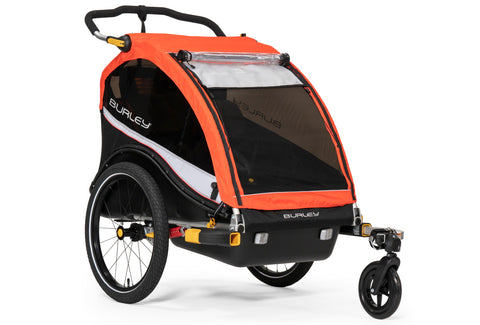 Burley Cub X Child Bicycle Trailer Atomic Red