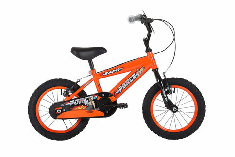 "Bumper Force Boys 18"" Mountain Bike Orange/Black"