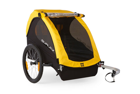 Burley Bee Child Bicycle Trailer Yellow