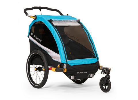 Burley D'Lite X Child Bicycle Trailer Aqua