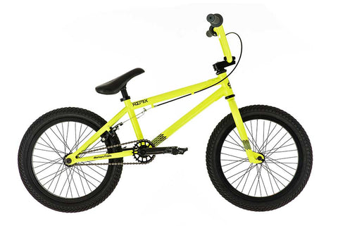 "B Grade 2018 Diamondback Remix BMX 18"" Wheel Neon Yellow"