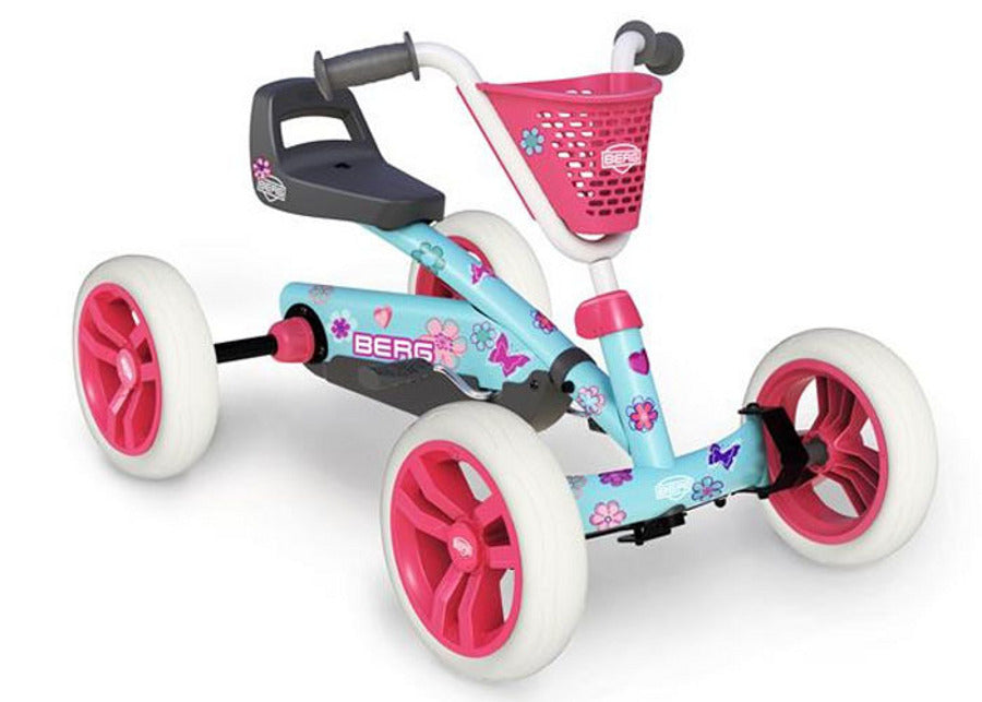 Berg Buzzy Bloom 4 Wheel Go Kart