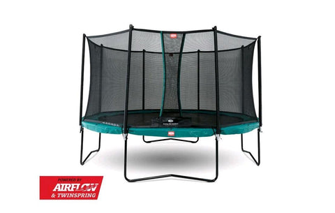 BERG Champion Trampoline Green 330 (11ft) + Safety Net Comfort