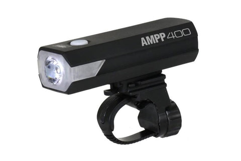 Cateye AMPP 400 USB Rechargeable LED Front Bike Light