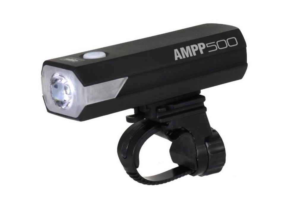 Cateye AMPP 500 USB Rechargeable LED Front Bike Light