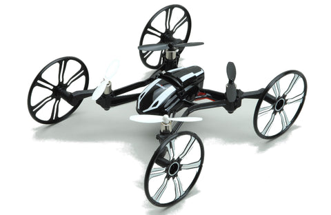 B Grade UDI U841 Nano RX4 Quadcopter With HD Video Camera Black 2.4GHz