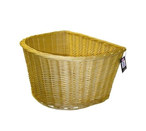 "Adie D 18"" Wicker Full Cane Front Basket"