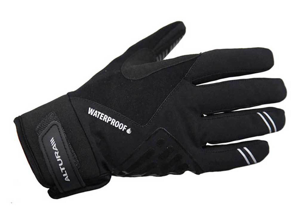 Altura Progel Waterproof Cycling Gloves Black