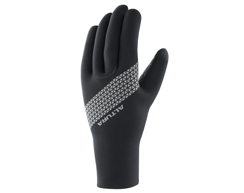 2018 Altura Thermostretch 3 Neoprene Cycling Gloves Black