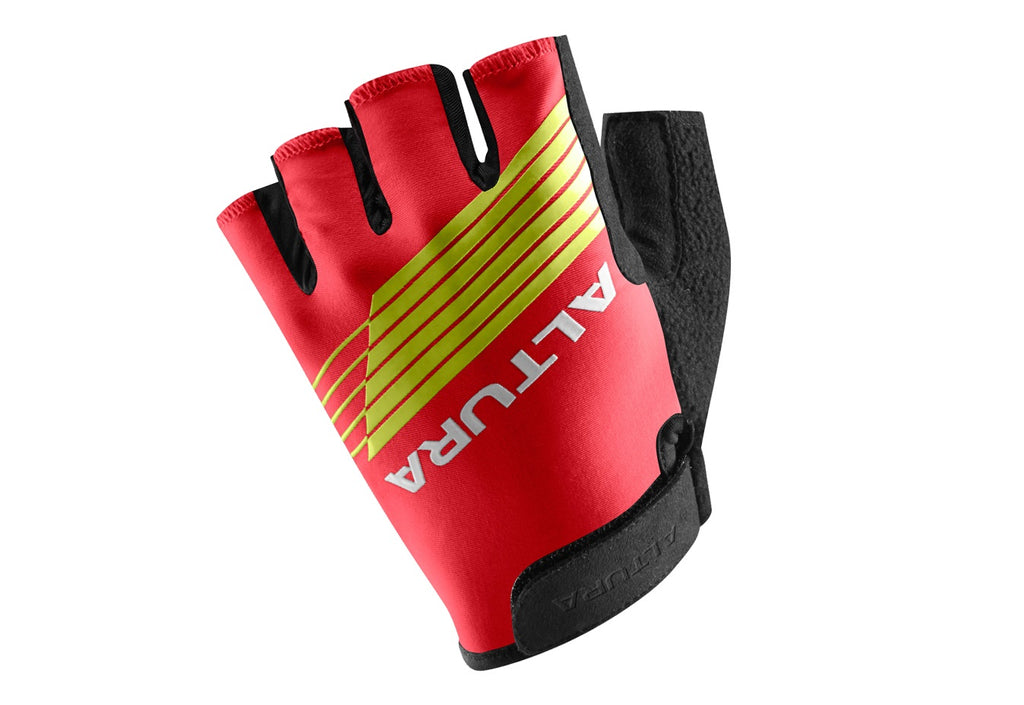 2017 Altura Kids Sportive Mitts Gloves Red/Black