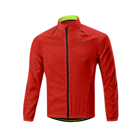 2017 Altura Airstream Windproof Jacket in Red