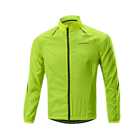 2017 Altura Airstream Windproof Jacket in Yellow
