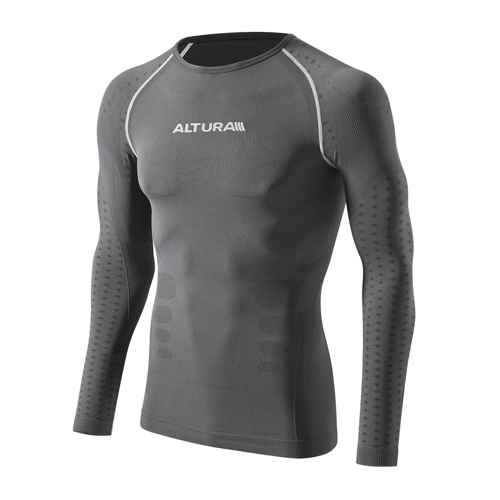 2017 Altura Second Skin Long Sleeve Base Layer in Black