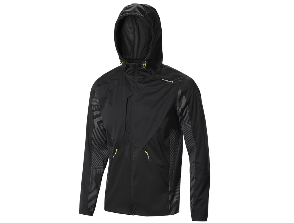2017 Altura Three / 60 Windproof Jacket Black/Grey
