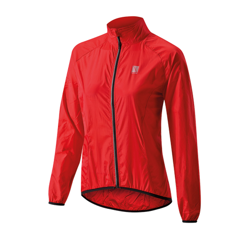 2017 Altura Womens Microlite Windproof Jacket Red
