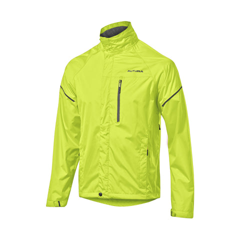 2017 Altura Nevis III Waterproof Jacket in Yellow