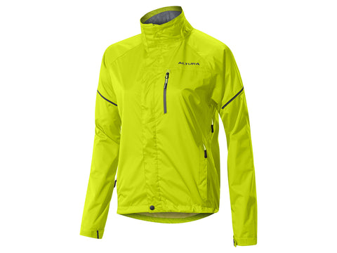 2017 Altura Womens Nevis III Waterproof Jacket in Yellow