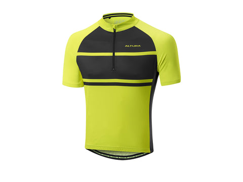 2017 Altura Airstream 2 Short Sleeve Jersey Men's Yellow/Black