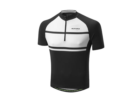 2017 Altura Airstream 2 Short Sleeve Jersey Men's Black/White