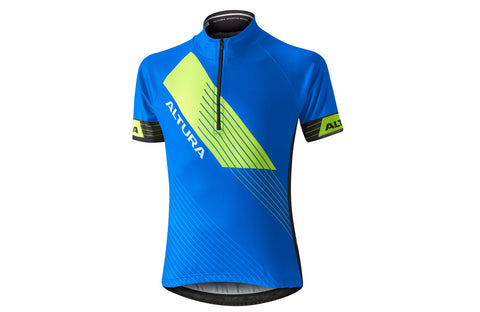 2017 Altura Kids Sportive Short Sleeve Jersey Blue/Black