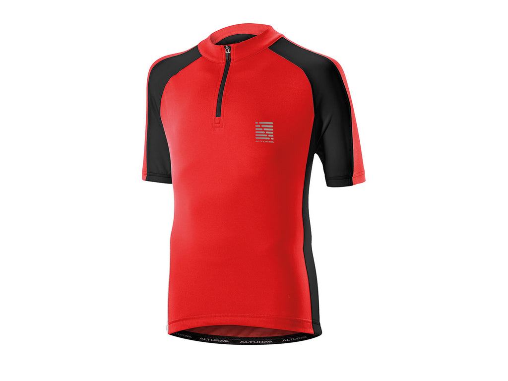 2017 Altura Kids Sprint Short Sleeve Jersey Red