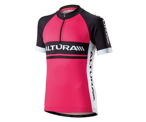 2016 Altura Kids Team Short Sleeve Jersey Pink
