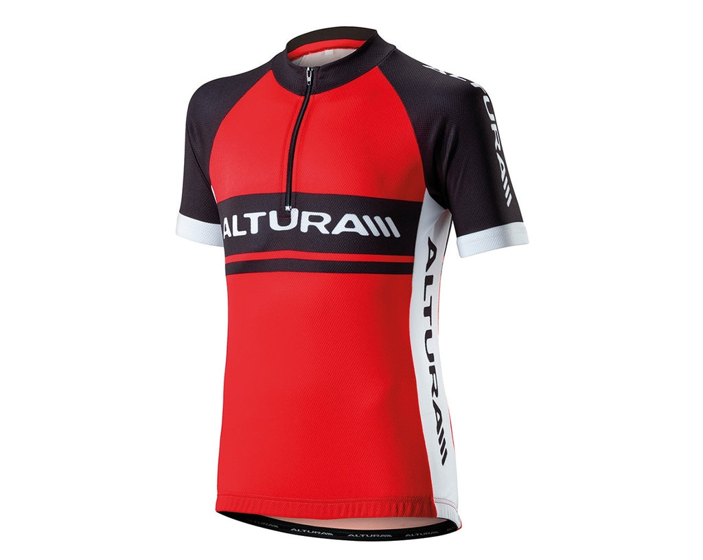 2016 Altura Kids Team Short Sleeve Jersey Red