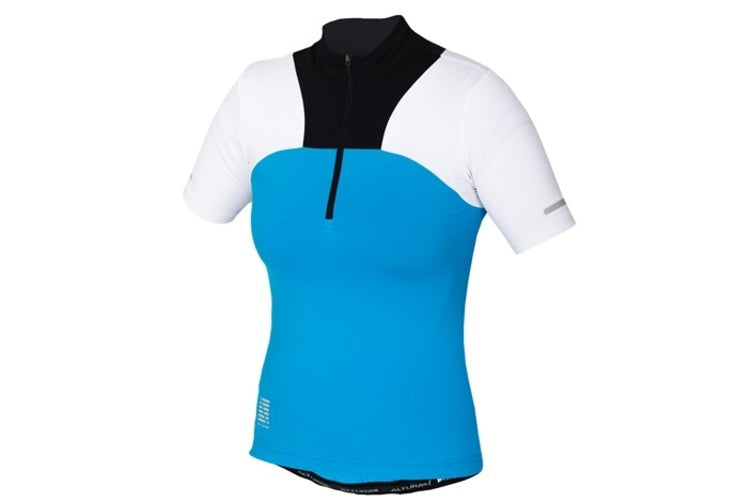 Altura Womens Synchro Short Sleeve Jersey Blue