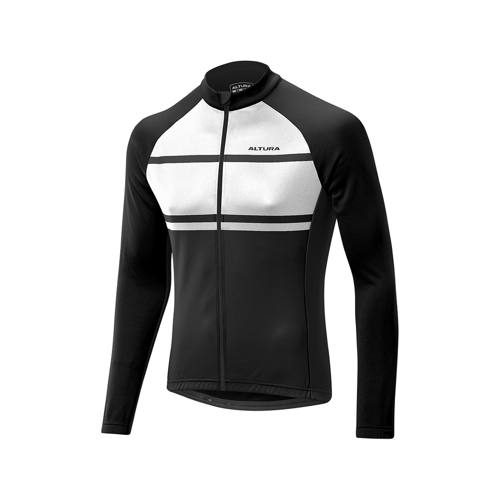 Altura Airstream Long Sleeve Jersey Black/White