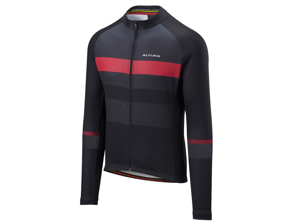 2018 Altura Airstream Long Sleeve Jersey Black/Charcoal