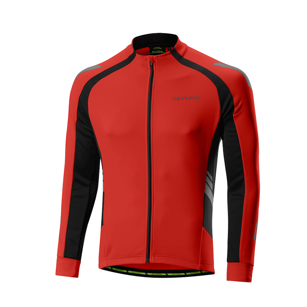 2017 Altura Night Vision 2 Commuter Long Sleeve Jersey Red