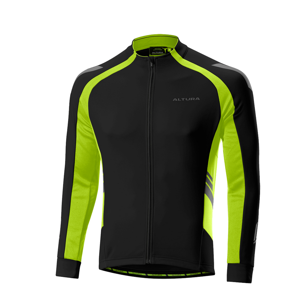 2017 Altura Night Vision 2 Commuter Long Sleeve Jersey Black