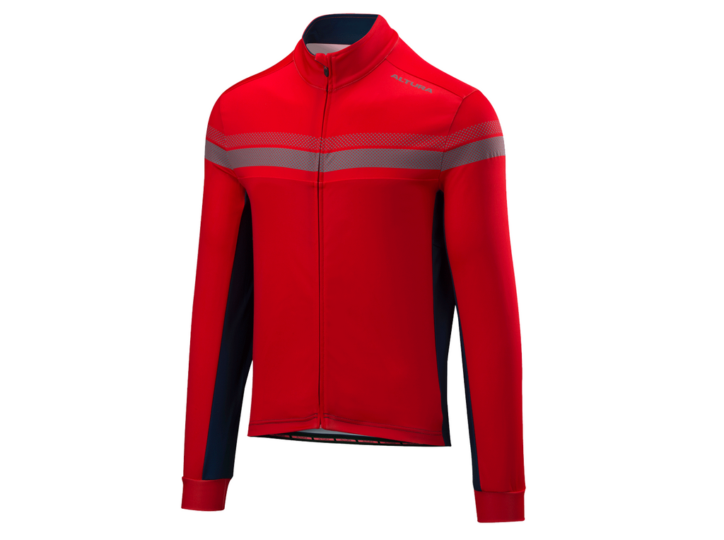 2018 Altura Night Vision 4 Long Sleeve Jersey Red/Blue