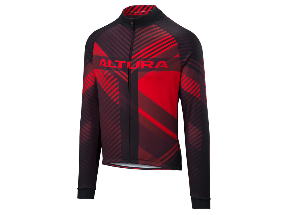 2018 Altura Team Long Sleeve Jersey Red/Black