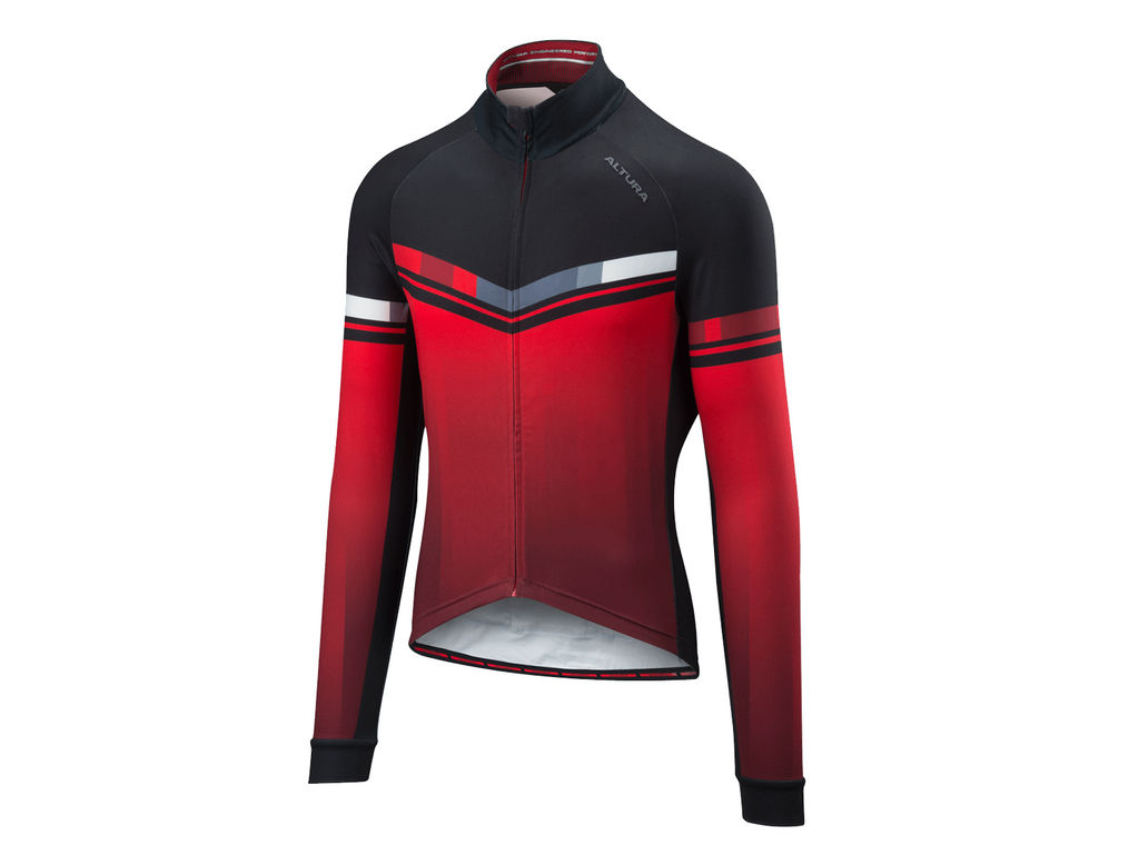 2018 Altura Thermo Invader Long Sleeve Jersey Red/Black