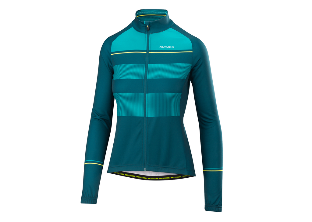2018 Altura Womens Airstream Long Sleeve Jersey Teal