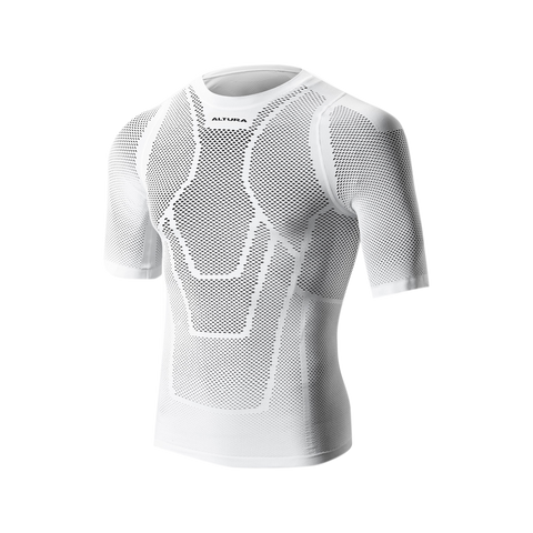 2017 Altura Dry Mesh Short Sleeve Baselayer in White