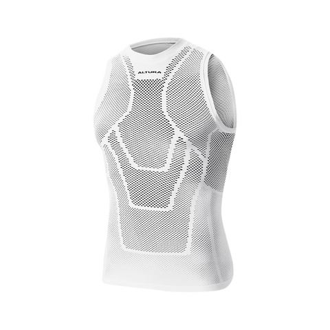 2017 Altura Dry Mesh Vest Base Layer in White